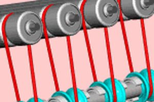 round belt durabelt o-ring belt,habicord polycord